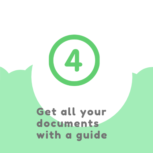 Get all your documents with a guide