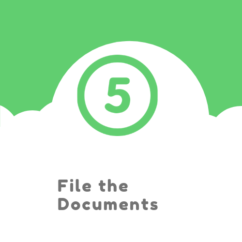 File the documents
